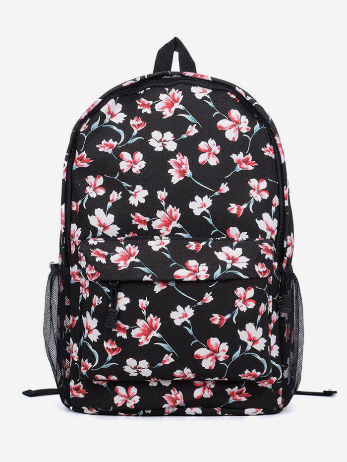 Outfits Flowers Printed Outdoors Backpack