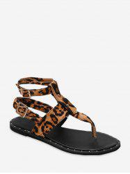 Toe Post Buckle Strap Rome Sandals -