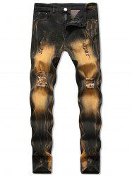 Vintage Destroyed Design Jeans -