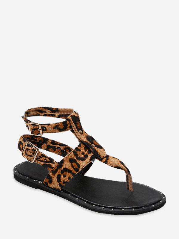 Best Toe Post Buckle Strap Rome Sandals