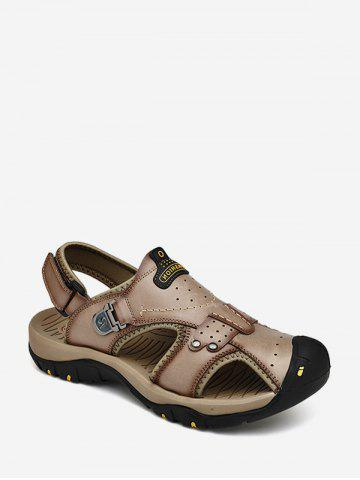 Letter Print Outdoor Casual Sandals
