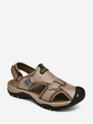 Letter Print Outdoor Casual Sandals -