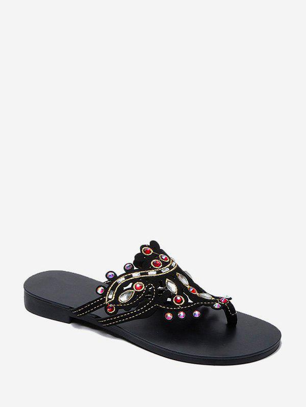 Fancy Bohemia Casual Hollowed Out Sandals