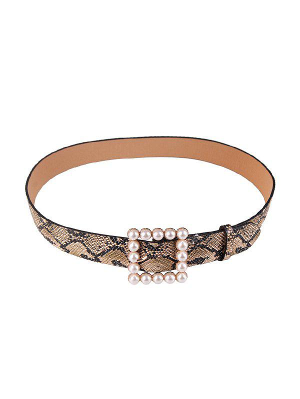 Outfits Pearl Square Buckle Belt