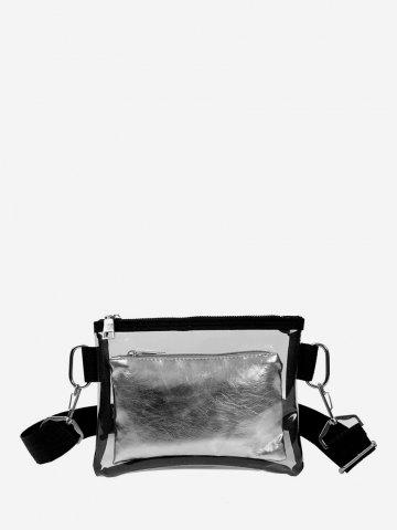 Transparent PVC Casual Shoulder Bag
