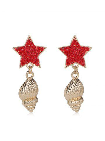 Sea Nail Star Earrings