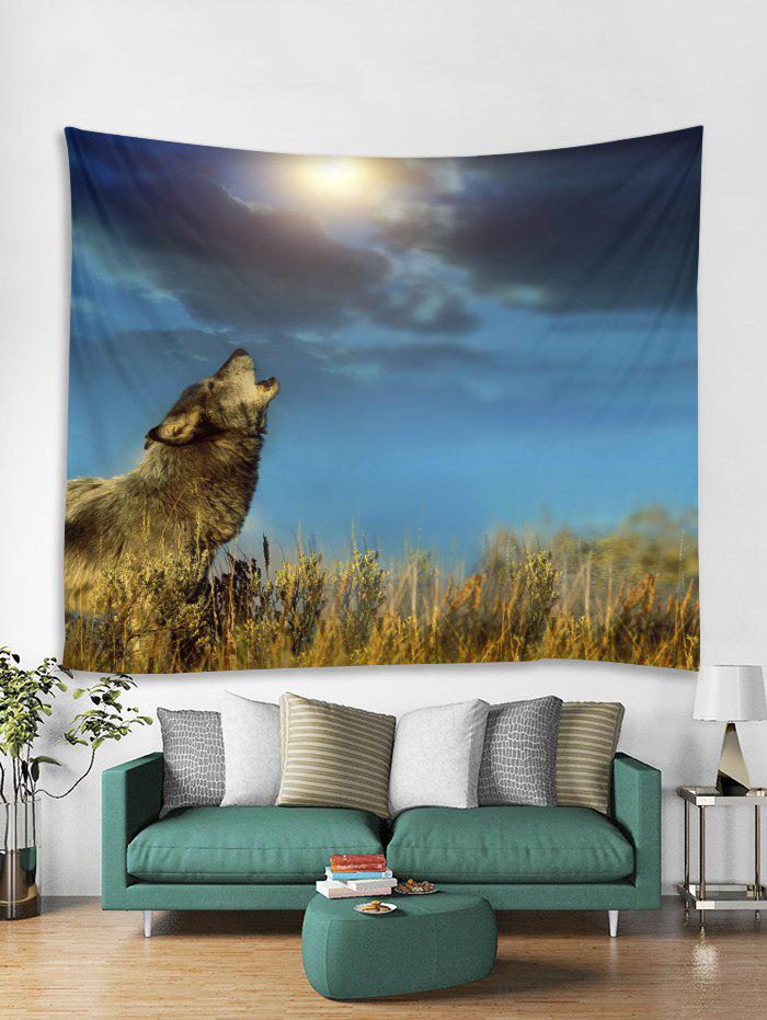 Shops Wolf Pattern Tapestry