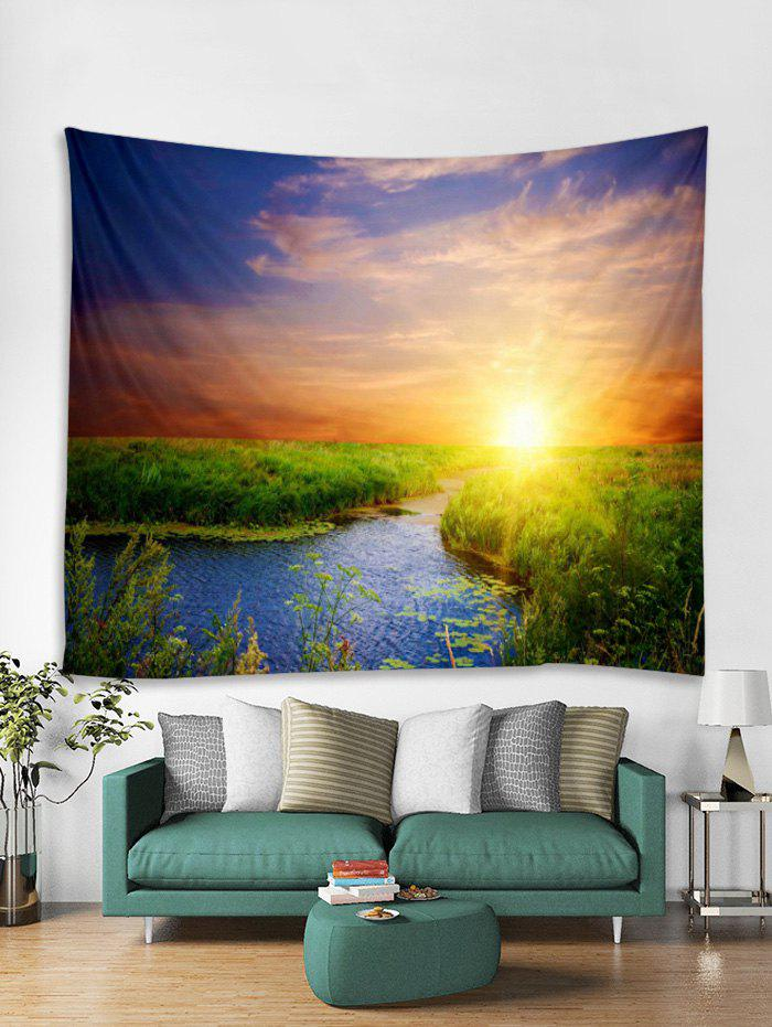 Store Natural Scene Sunset Pattern Tapestry