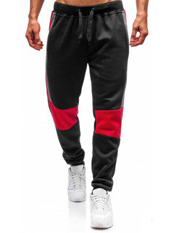 Color Block Casual Style Jogger Pants