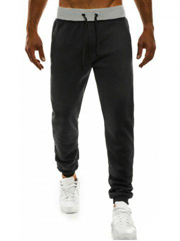Solid Color Casual Style Jogger Pants