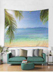 Beach Print Art Decoration Wall Tapestry -