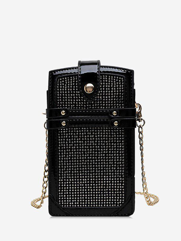 Affordable Glistening Chain Phone Bag