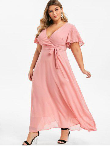 Plus Size Hot Pink Dress - Formal, Peplum And Lace Cheap ...