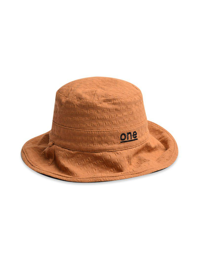 Shops One Embroidery Pattern Bucket Hat