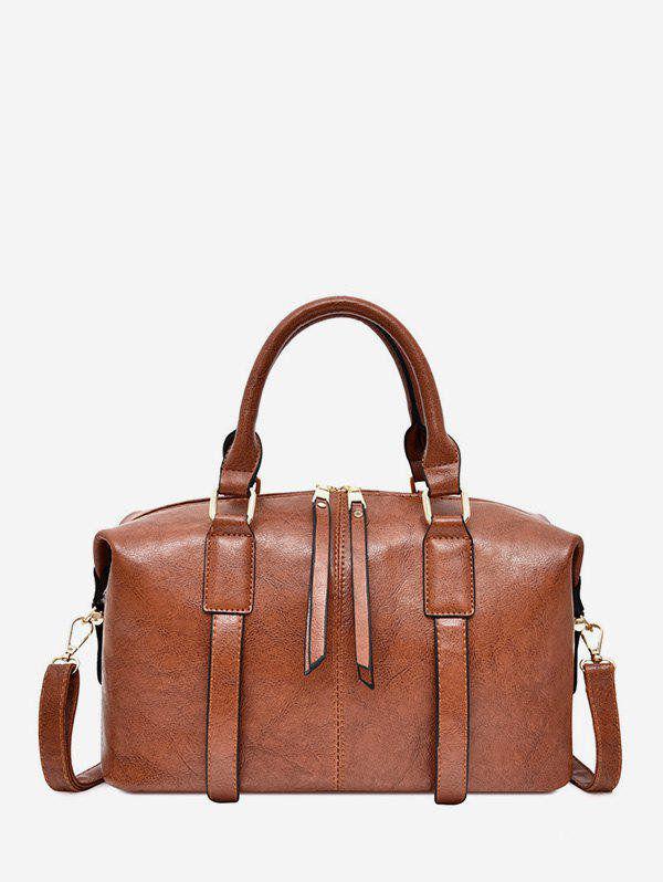New Retro Multi-functional PU Leather Tote Bag