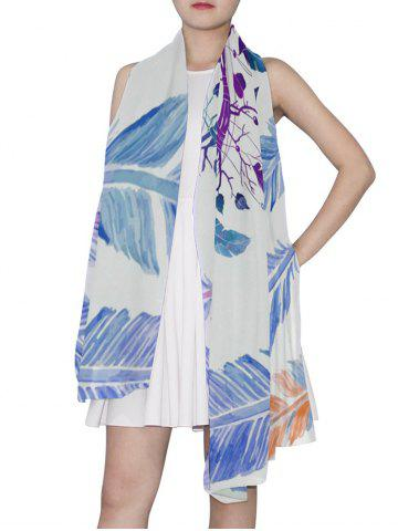 Dream Catcher Feather Print Long Scarf