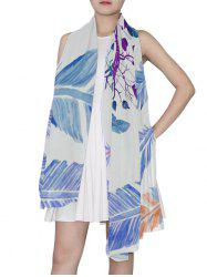 Dream Catcher Feather Print Long Scarf -