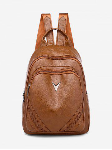 PU Leather Outdoors Backpack