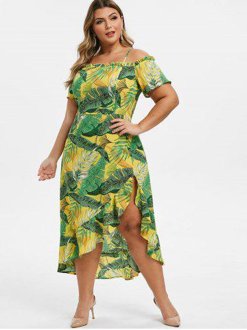 067ea783a0500 Yellow Print Maxi Dress - Free Shipping, Discount And Cheap Sale ...