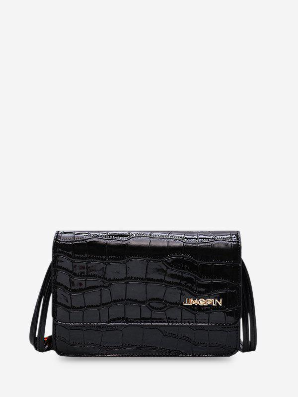 Outfits PU Leather Crossbody Chain Bag