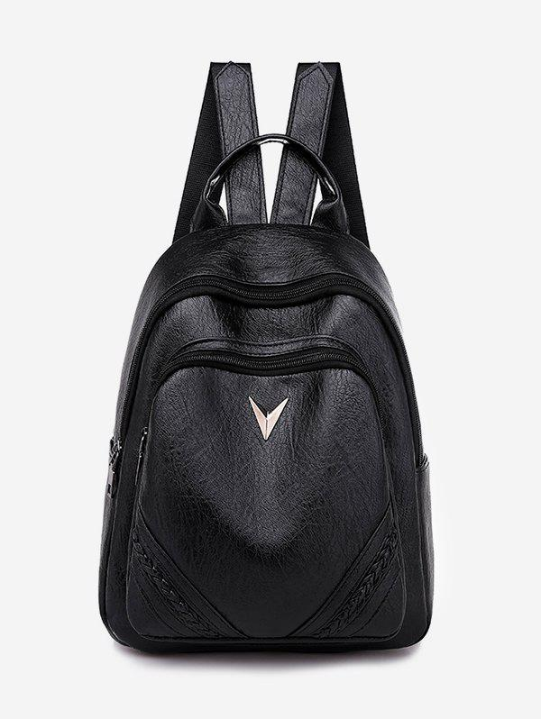 Outfits PU Leather Outdoors Backpack