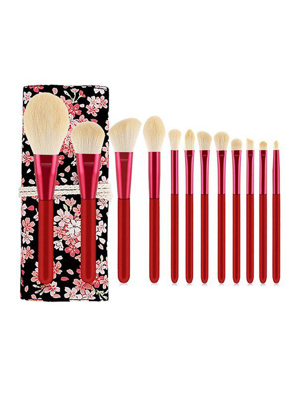 Chic 12PCS Makeup Brush Set with Bag