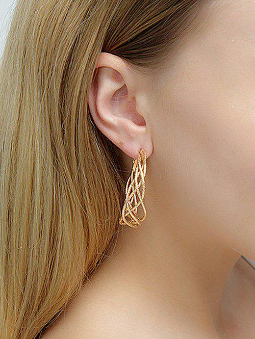Chic Chic Stylish Ring Hoop Earrings