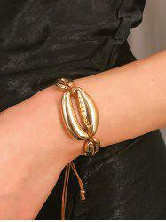 Metallic Shell Adjustable Bracelet -