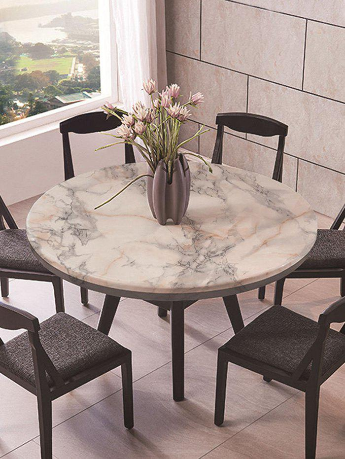 New Marble Print Fabric Waterproof Table Cloth