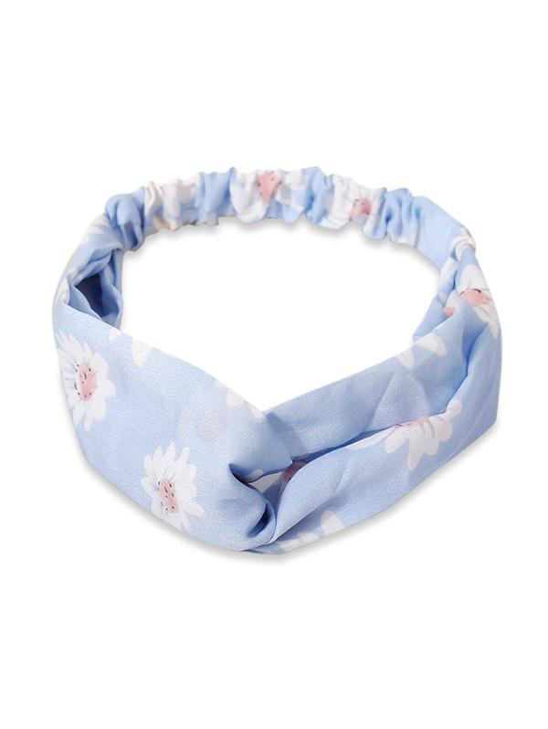 Outfit Flower Printed Elastic Hair Band