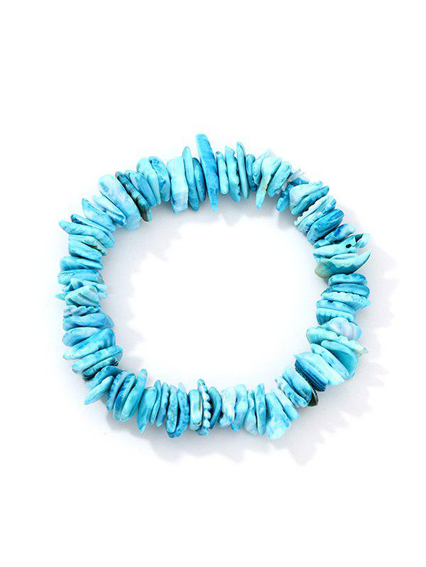 New Acrylic Shell Beach Strand Bracelet
