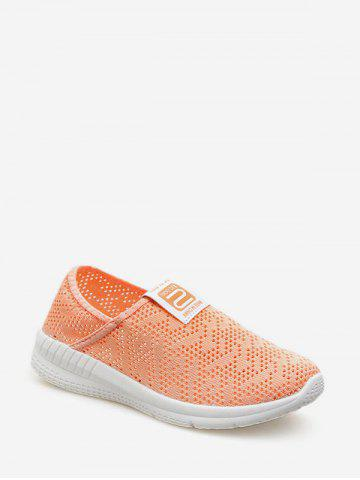 Hollow Out Design Mesh Casual Shoes