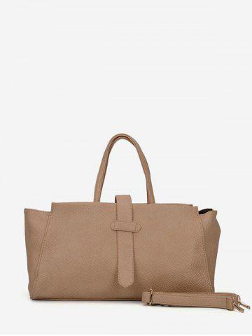 Solid Color Large Capacity Casual Tote Bag