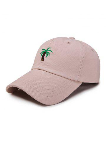 Coconut Palm Embroidery Pattern Baseball Cap