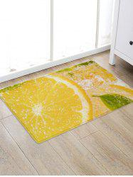 Lemon Water Drink 3D Print Floor Rug -