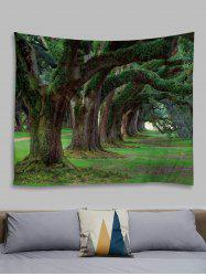 Forest Trail Printed Tapestry Wall Hanging Art Decoration -