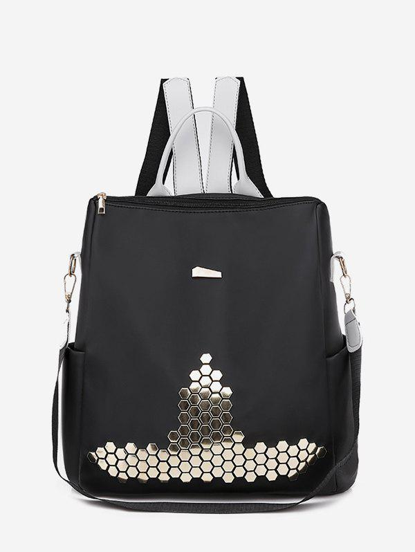 Sale Casual Geometric Sequin Backpack