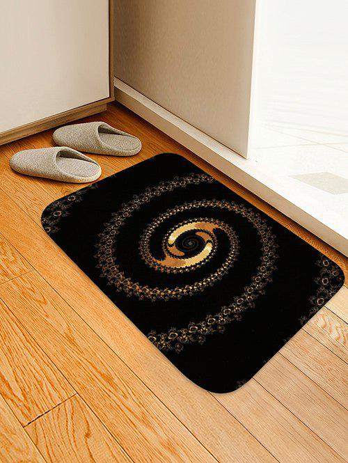 Cheap Abstract Spiral Pattern Water Absorption Area Rug