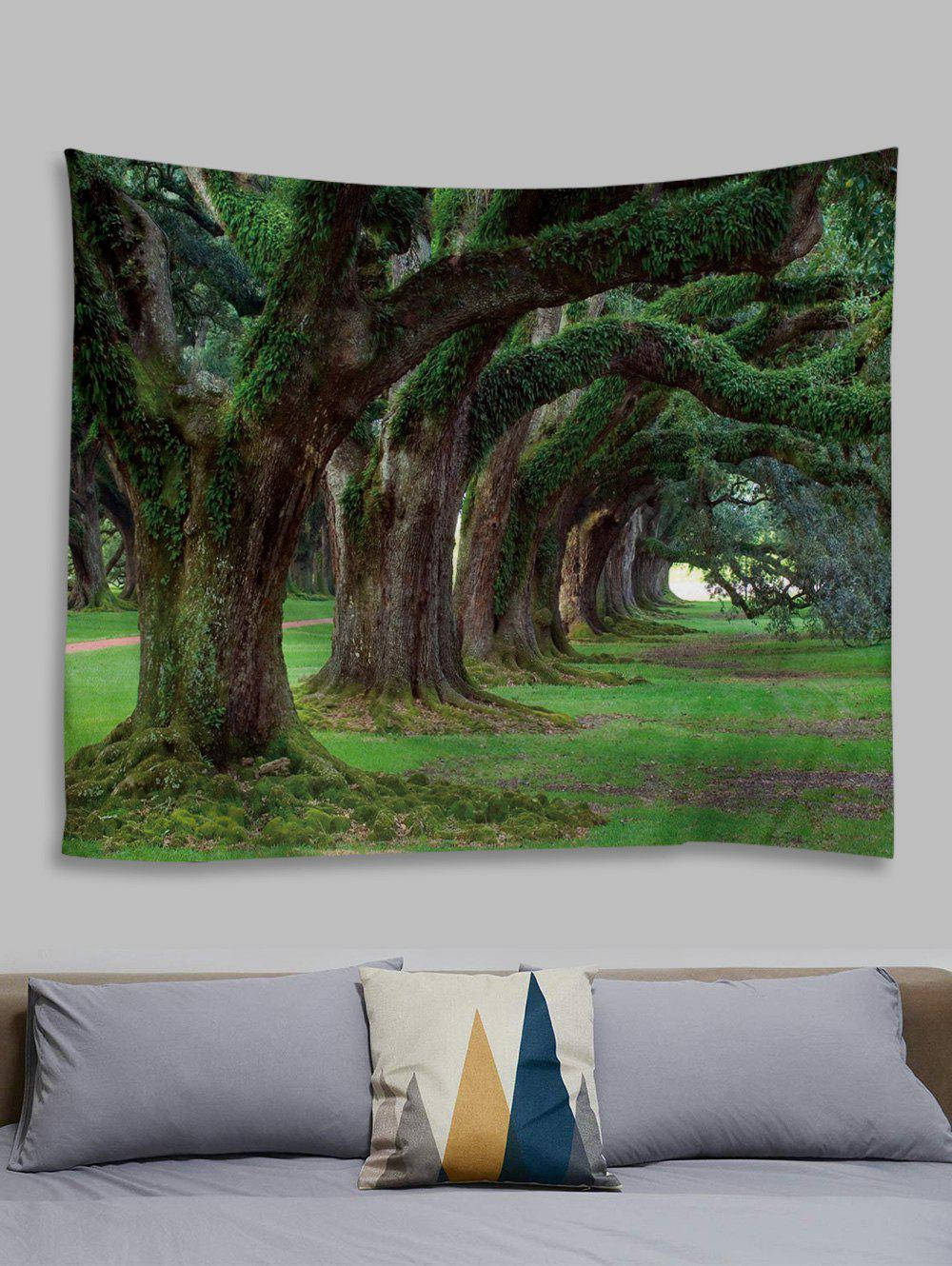 Chic Forest Trail Printed Tapestry Wall Hanging Art Decoration