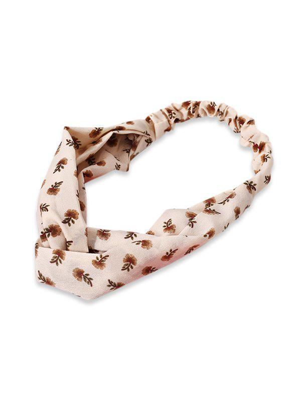 Cheap Cross Tiny Floral Elastic Headband