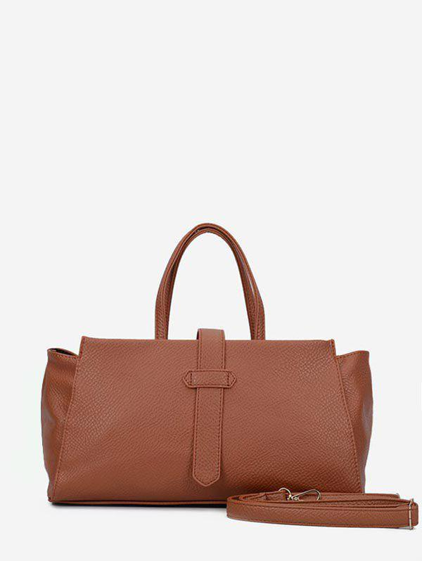 Online Solid Color Large Capacity Casual Tote Bag