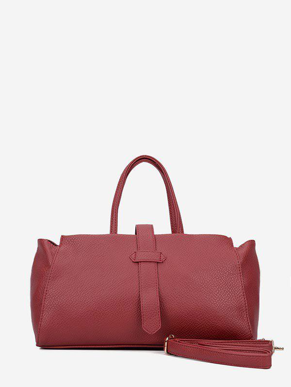Affordable Solid Color Large Capacity Casual Tote Bag