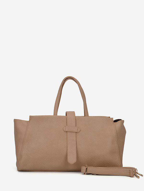 Fashion Solid Color Large Capacity Casual Tote Bag