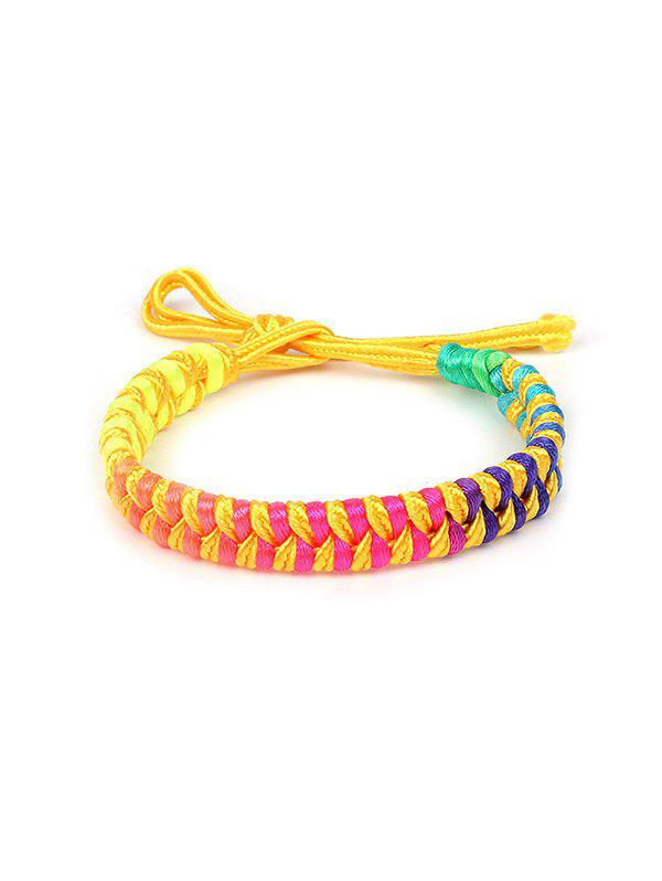 Trendy Colorful Design Knitted Bracelet