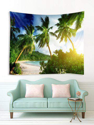 Beach Palm Trees Print Tapestry Wall Hanging Art Decoration