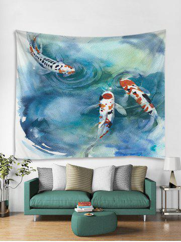 Koi Fish Pattern Tapestry