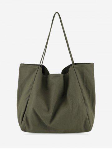 Vintage Solid Color Casual Shoulder Bag