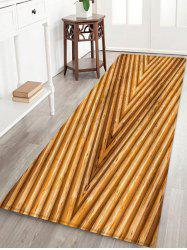 3D Wooden Print Design Floor Mat -
