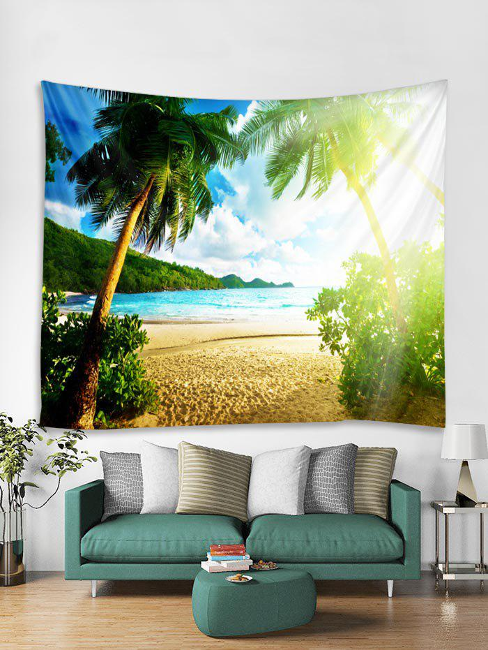 Outfits Sunshine Coconut Trees Pattern Tapestry