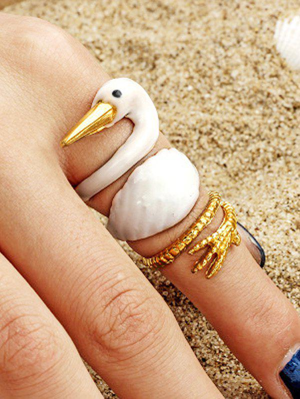 Buy 3 Piece Animal Wide Finger Ring Sets